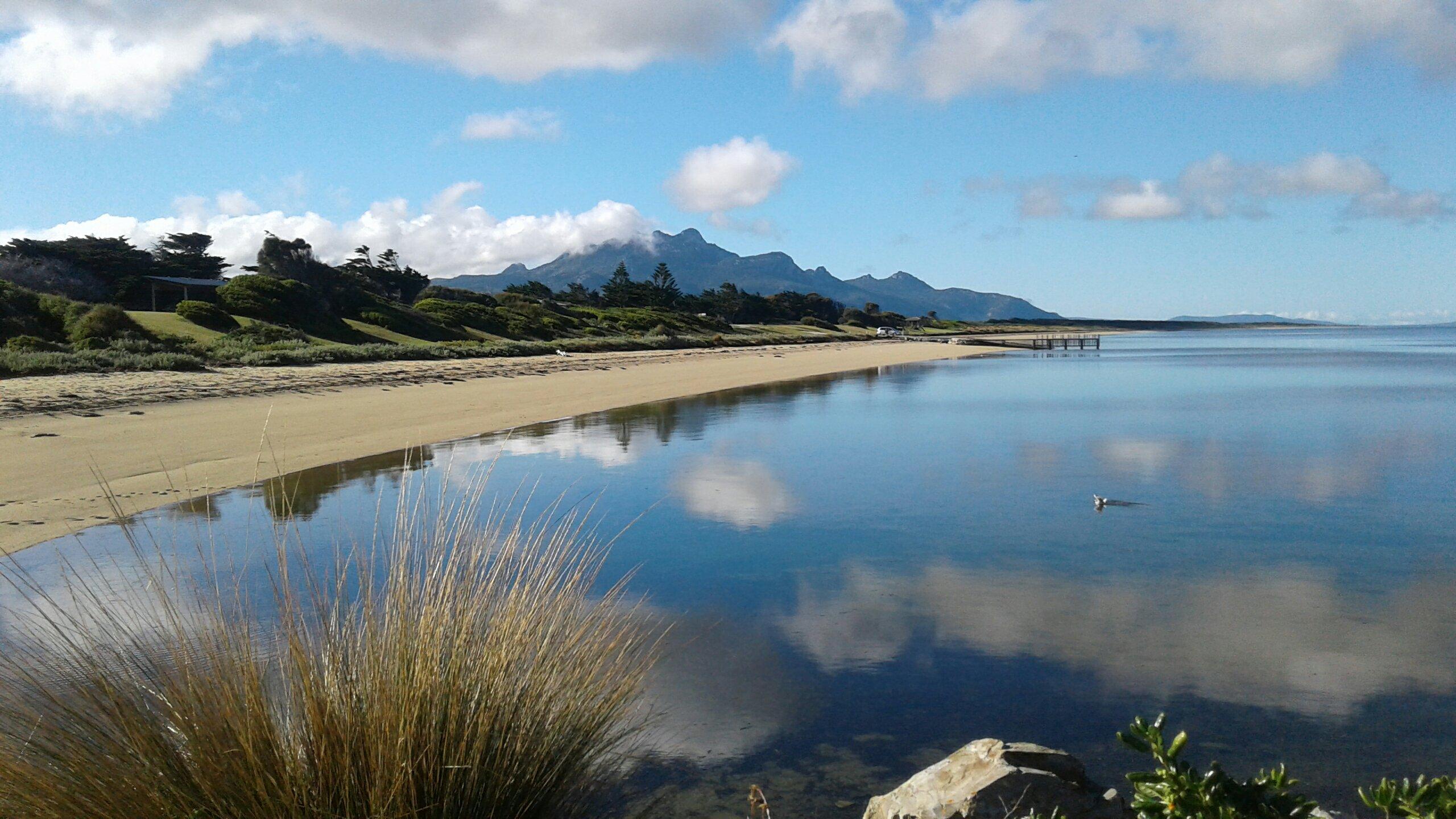 mt strzelecki whitemark flinders island tasmania